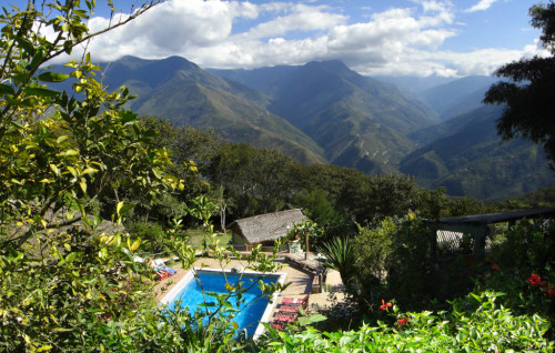 The view from Coroico.