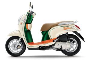 Honda Scoopy - A delightful little motorbike