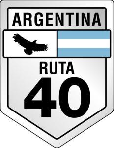 Ruta 40 Argentina Roadsign