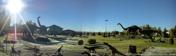 Dinosaur park in Sarmiento, Argentina
