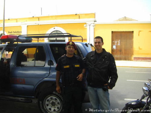 Nothing but gratitude for Officer Lizarzaburo.