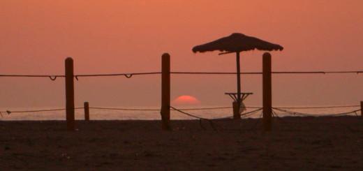 Sunset at Puerto Viejo