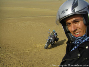 Just after the dune tumble.