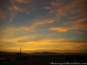 Sunrise at Lagunillas