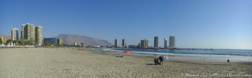 Covancha Beach at Iquique
