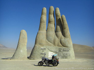 Hand of the Desert rising out of Atacama.