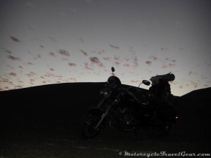 Night falls on the Atacama Desert.