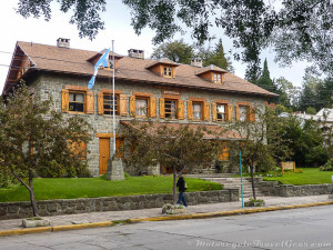 Strolling around Bariloche.
