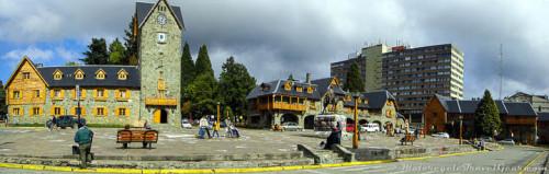 Downtown Bariloche.