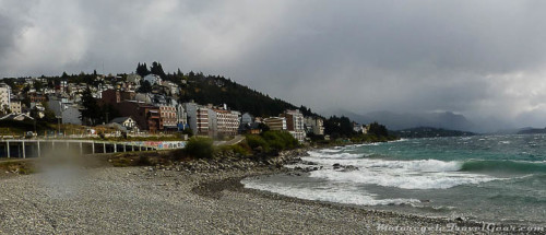 The lovely weather that awaited us in Bariloche.