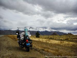 Interminable mountain range.